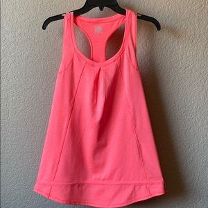 pink work out tank top